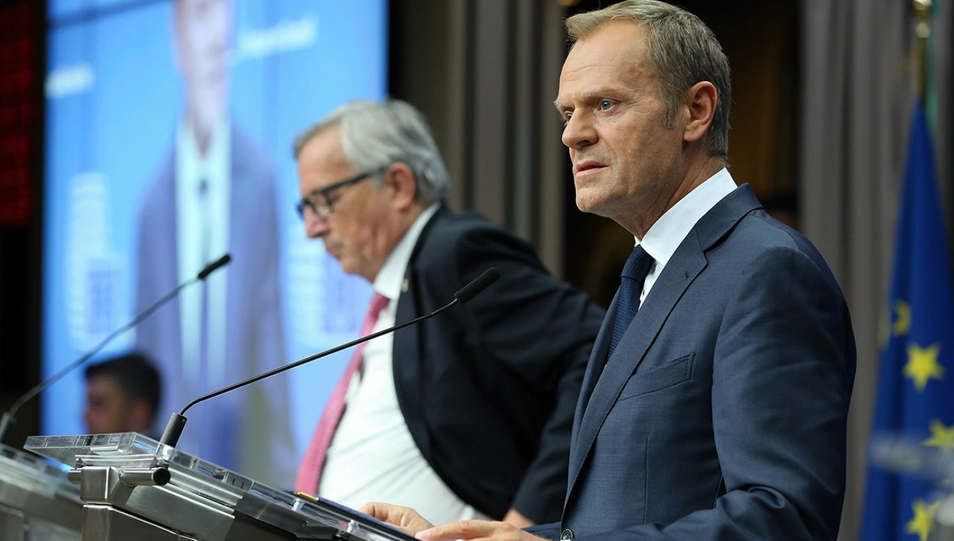 Donald Tusk (fot. Dursun Aydemir/Anadolu Agency/Getty Images)