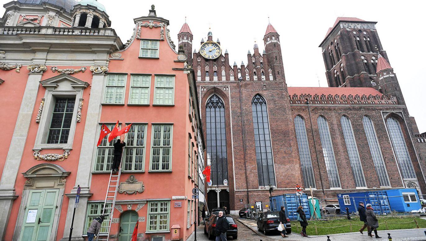 Pogrzeb prezydenta Adamowicza odbędzie się w sobotę w Bazylice Mariackiej w Gdańsku (fot. PAP/Adam Warżawa)