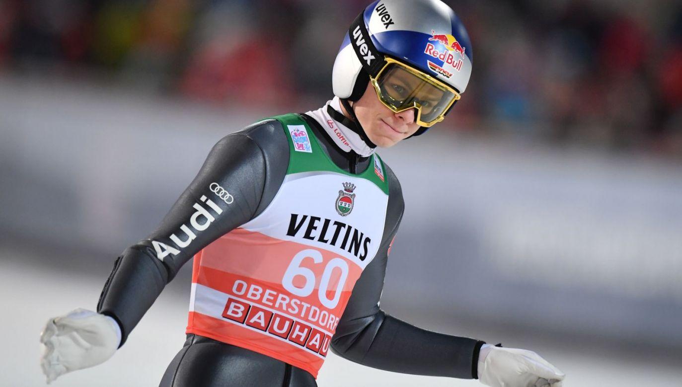 Andreas Wellinger nie wystąpi w Pucharze Świata w Zakopanem (fot. Getty)