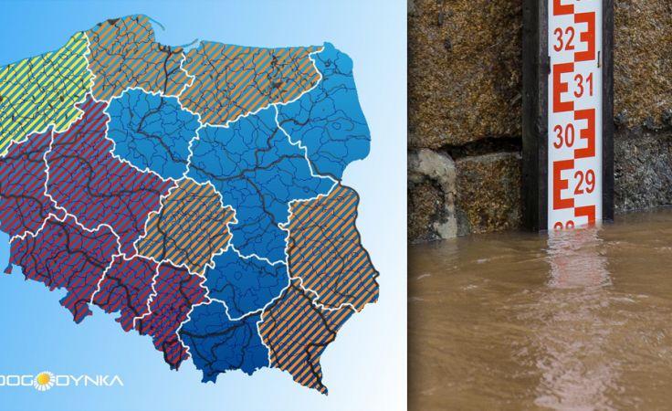 W Polsce rośnie poziom wód (fot.arch.PAP/Maciej Kulczyński/pogodynka.pl)