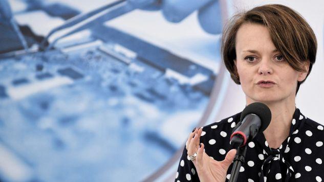 Szefowa MPiT Jadwiga Emilewicz przebywa trzydniową wizytą w USA (fot. arch.PAP/Marcin Obara)