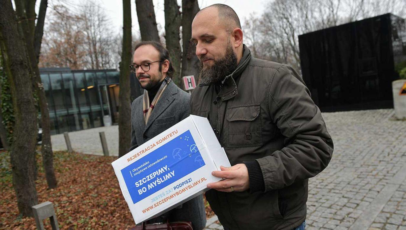 Inicjatorzy akcji zapowiadają, że nie składają broni (fot. arch. PAP/PAP/Marcin Obara)
