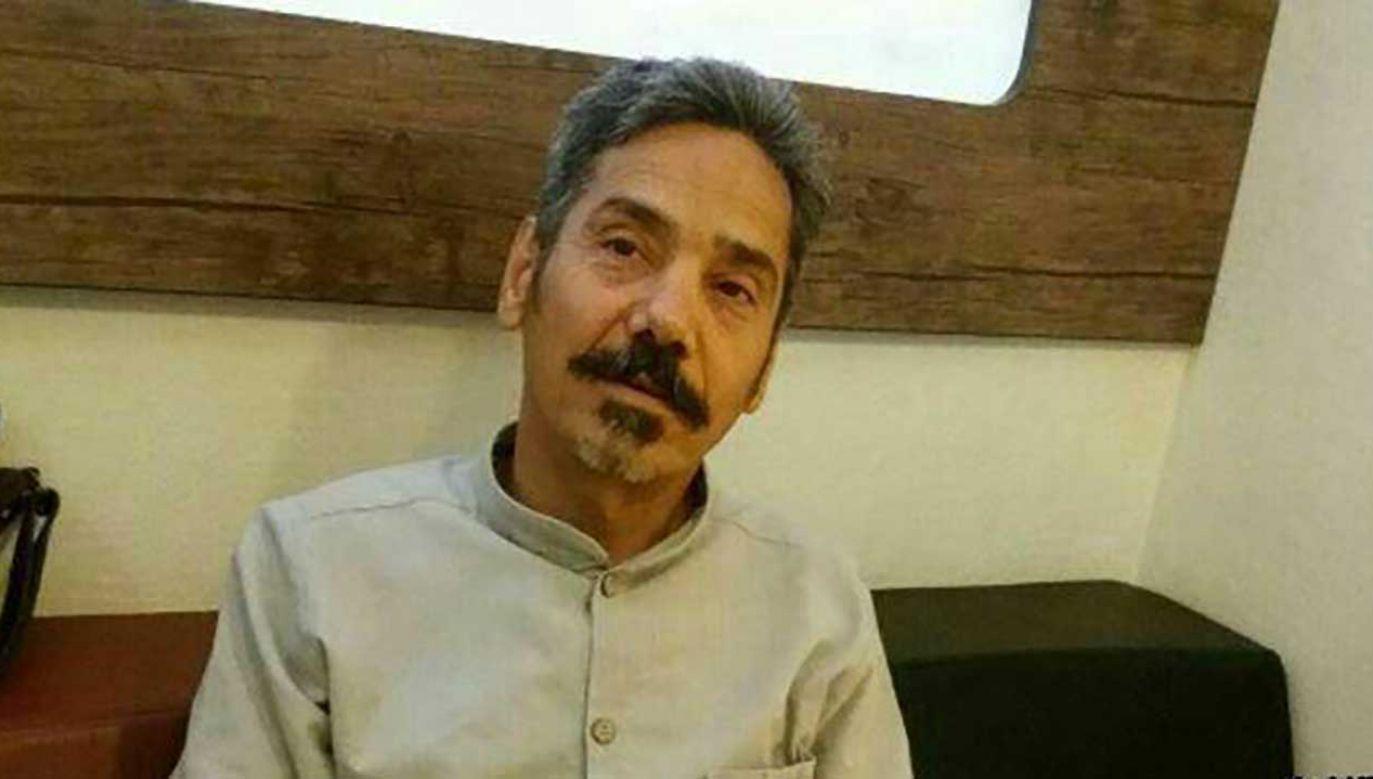 Soltaniego aresztowano w 2011 roku, a w 2012 roku skazano na 18 lat więzienia za działalność antyrządową (fot. twitter)