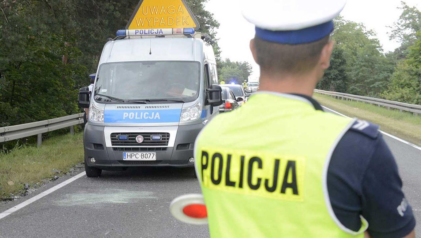 W wypadku zginęły dwie osoby (fot. arch. PAP/Tytus Żmijewski)