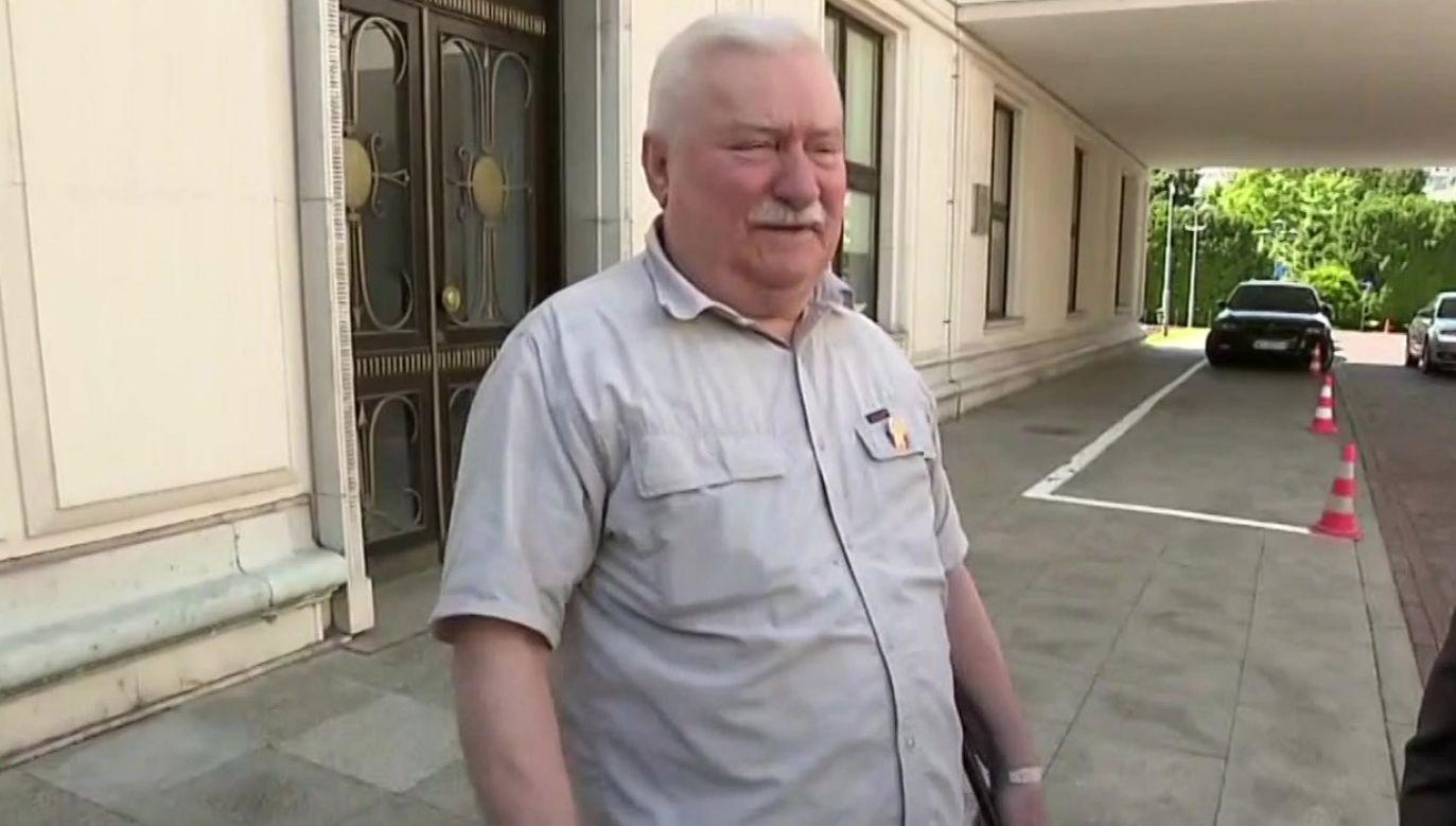 Lech Wałęsa (fot. TVP Info)