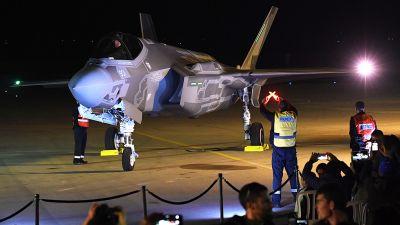 1af29a25 Dwa trudno wykrywalne przez radary izraelskie myśliwce F-35 spenetrowały w  ubiegłym miesiącu irańską przestrzeń powietrzną - poinformował w czwartek  ...