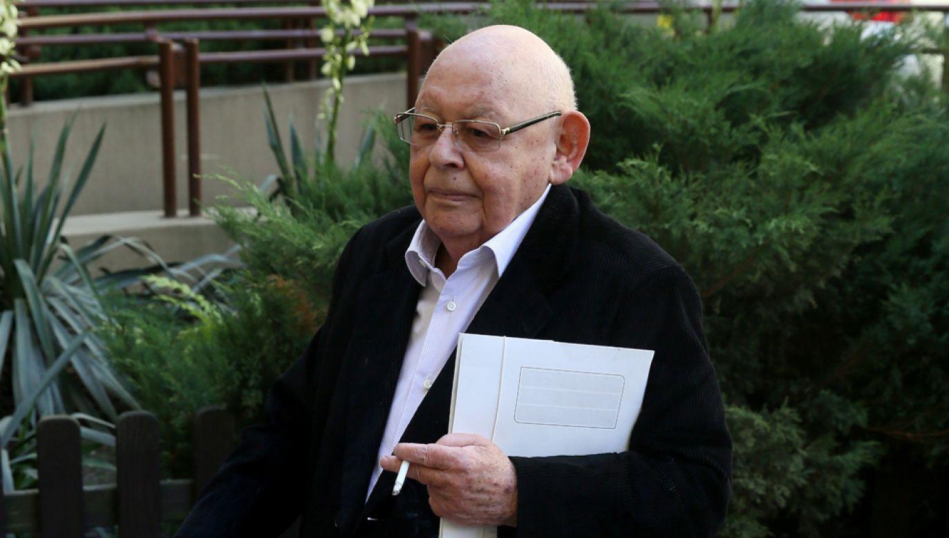 Jerzy Urban został skazany na karę grzywny w wysokości 120 tys. złotych za obrazę uczuć religijnych (fot. arch PAP / Tomasz Gzell)