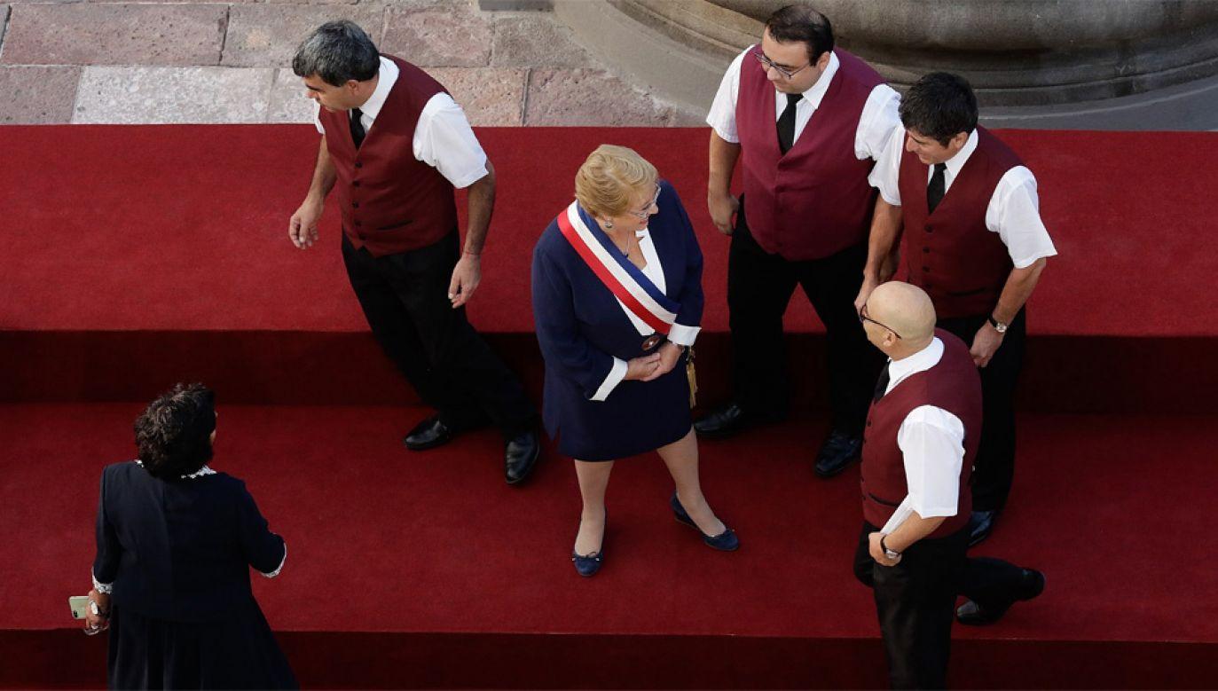 Michelle Bachelet z Socjalistycznej Partii Chile była dwukrotnie wybierana na urząd prezydenta (fot. Wiki/Ministerio Secretaría General de Gobierno)
