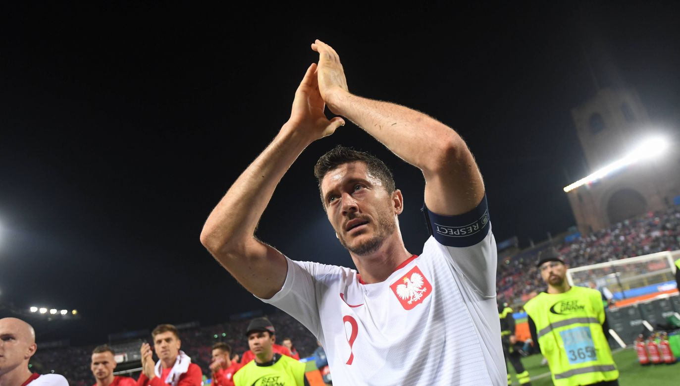 Robert Lewandowski is the captain of the national team since 2014. Photo: PAP/Bartłomiej Zborowski