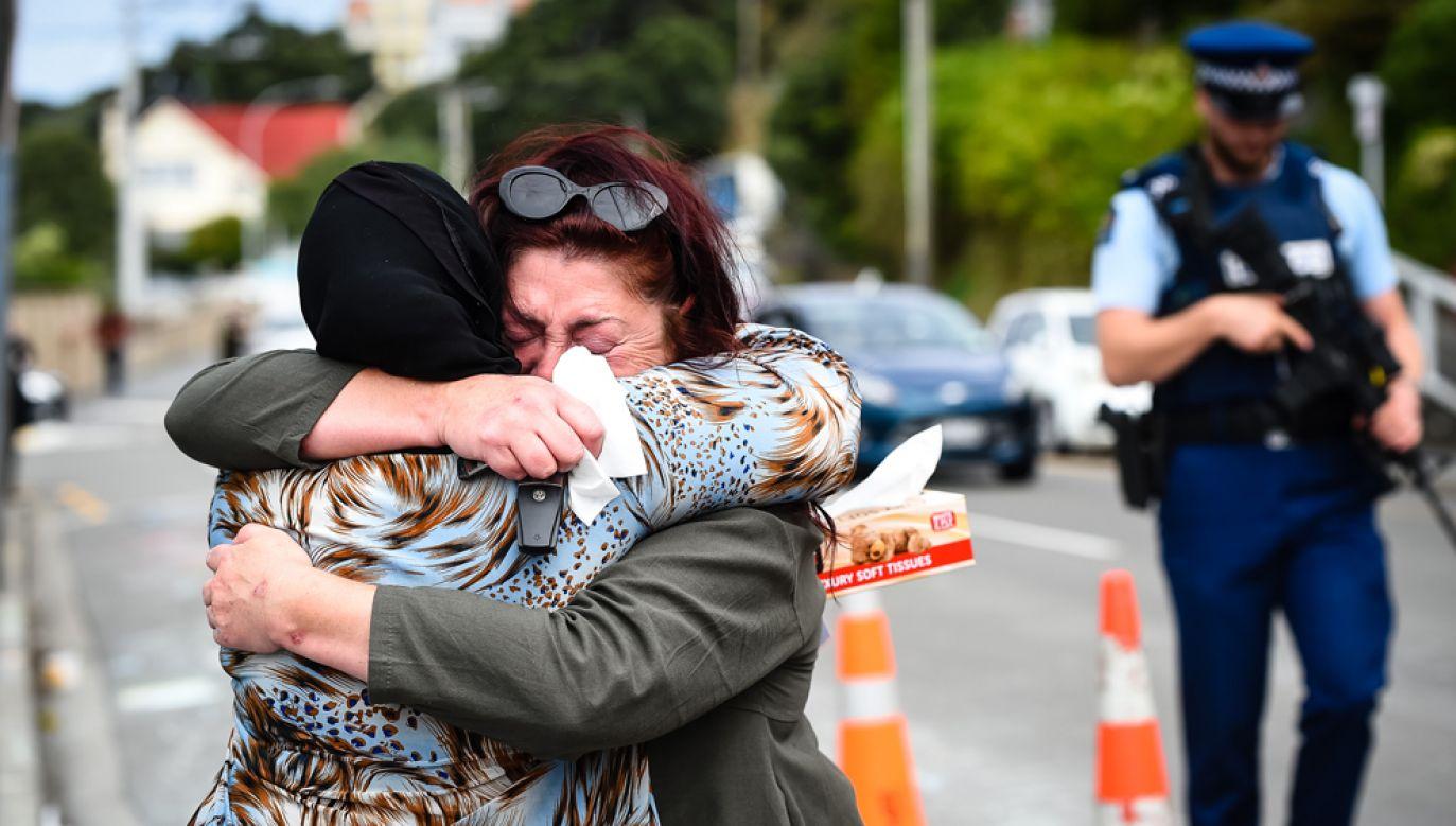 Sprawca masakry w Christchurch, 28-letni Australijczyk Brendon Tarrant, zamierzał dokonać więcej ataków (fot. Elias Rodriguez/Getty Images)