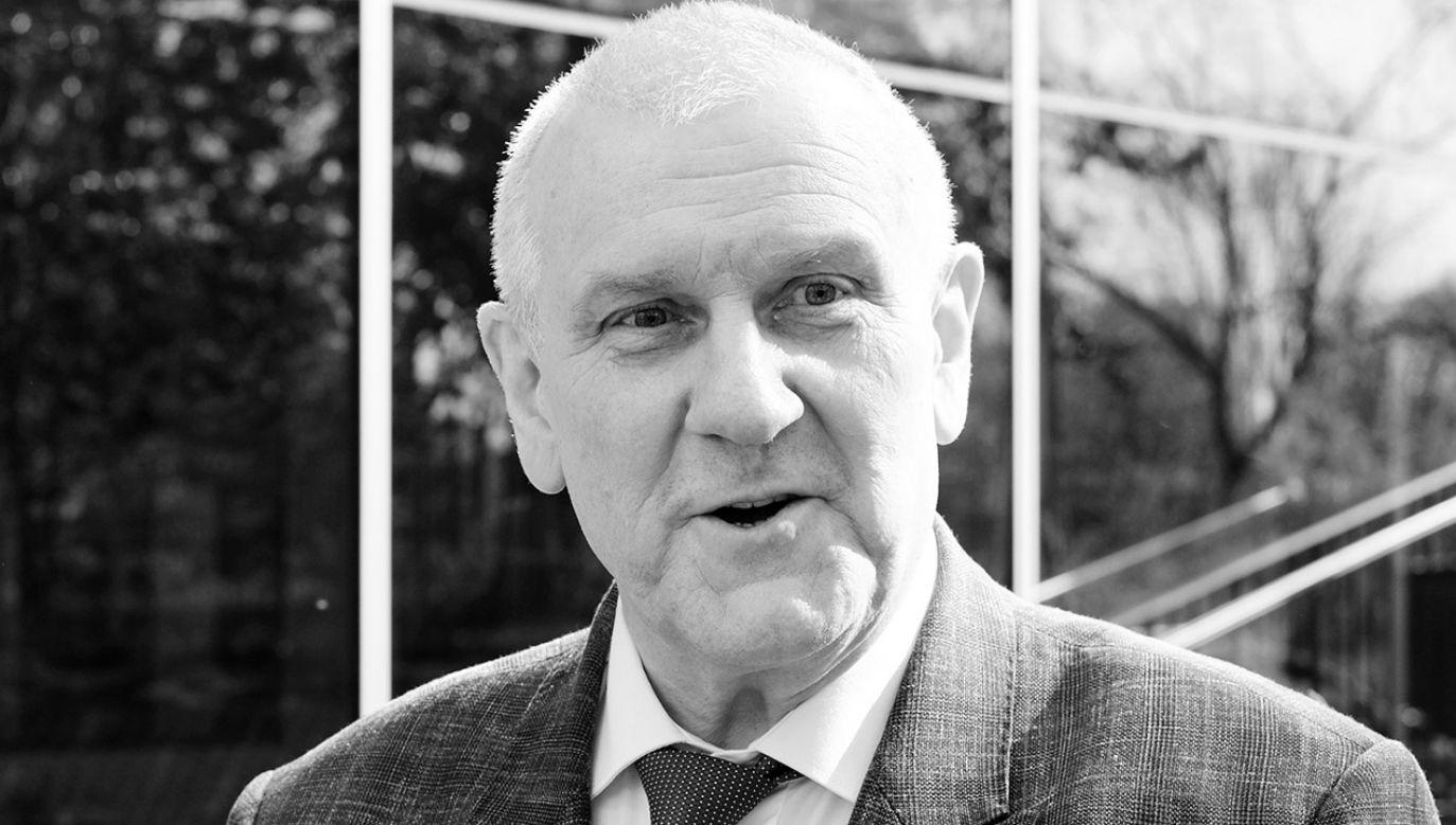 Jan Guz miał 62 lata (fot. arch.PAP/Andrzej Grygiel)