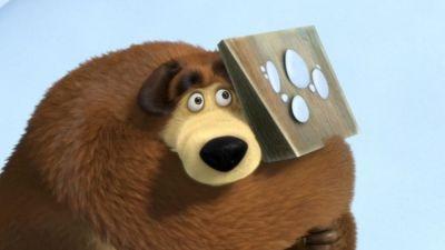 Masza i niedźwiedź: Ślady zwierząt niewidzianych, odc. 4