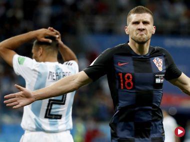 Skrót meczu Argentyna – Chorwacja
