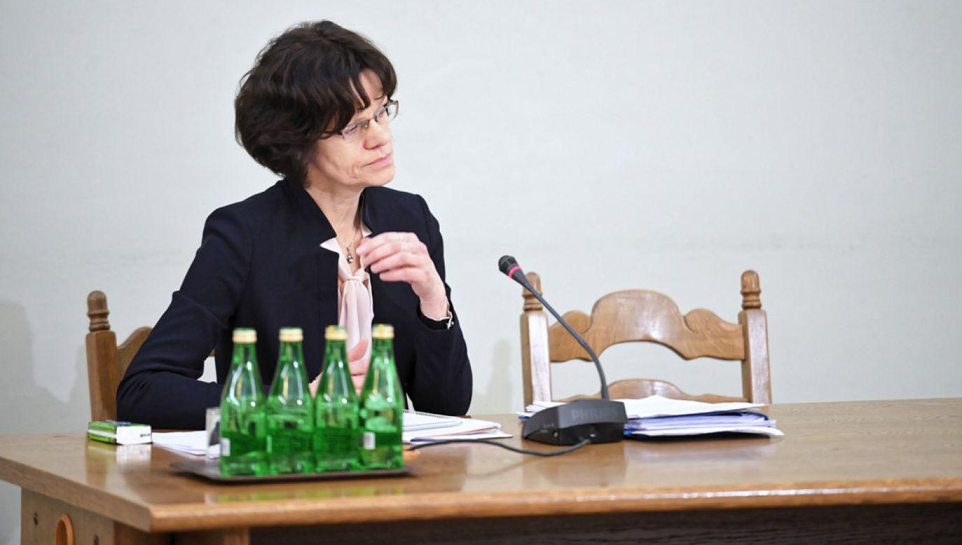Była podsekretarz stanu w Ministerstwie Finansów Hanna Majszczyk (fot. PAP/Jacek Turczyk)