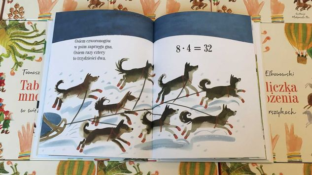 Nauka przez zabawę to najlepszy sposób na zapamiętanie trudnych działań – tłumaczy autor książki (fot. wydawnictwo Tabula Rasa)