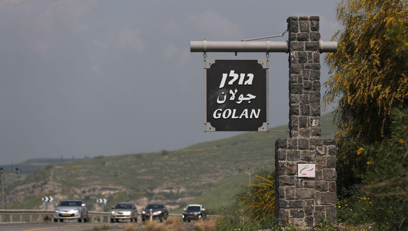 Izrael zajął Wzgórza Golan po wojnie sześciodniowej (fot. PAP/EPA/Atef Safadi)