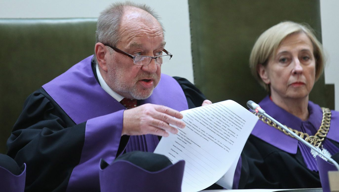 Sędzia Józef Iwulski (fot. arch.PAP/Rafał Guz)