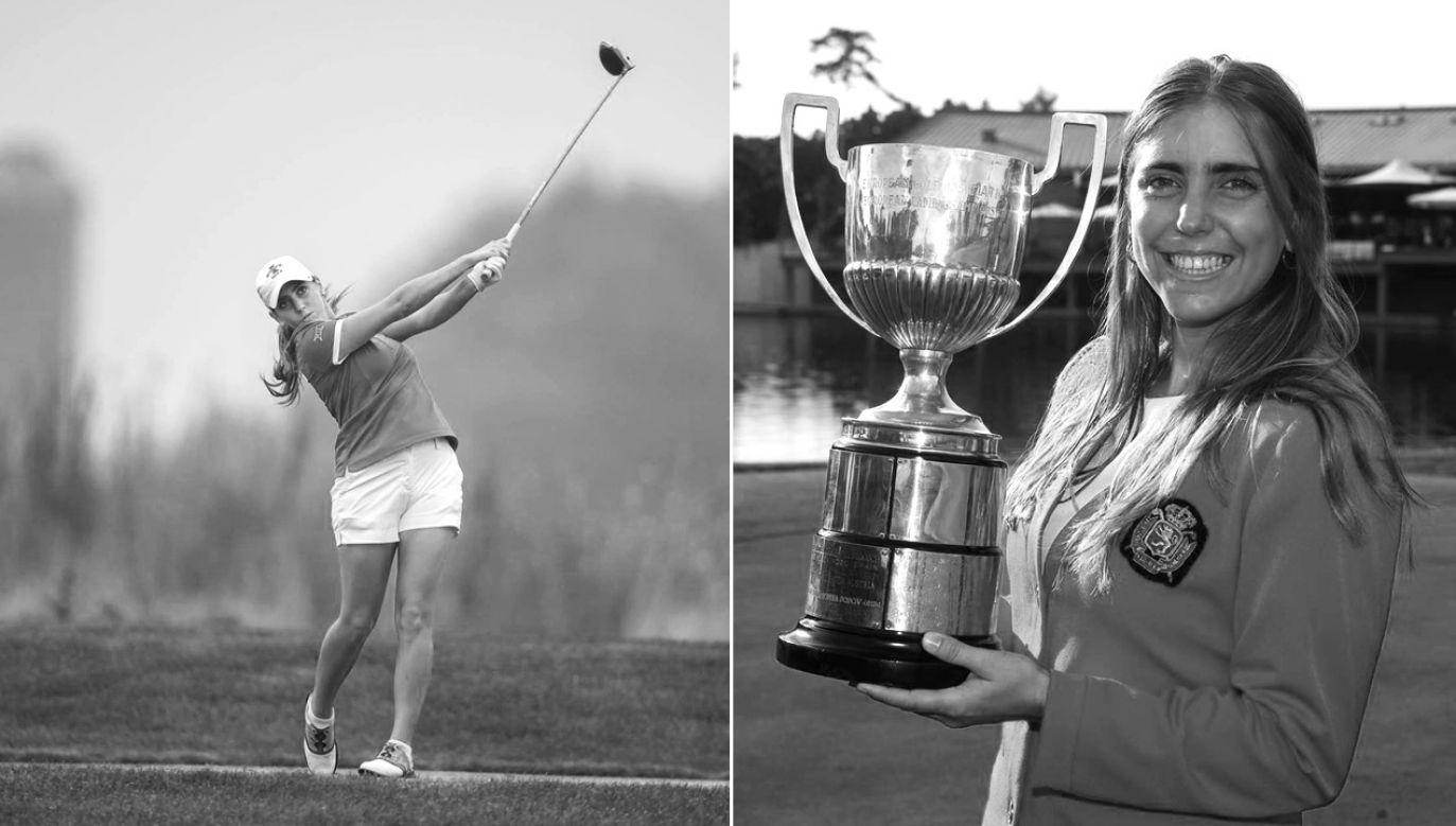 Golfistka miała 22 lata (fot. FB/Celia Barquín Arozamena)