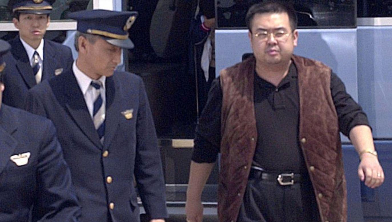 Kim Dzong Nam został zamordowany w lutym 2017 roku w hali odlotów na lotnisku w Kuala Lumpur (fot. REUTERS/KYODO)