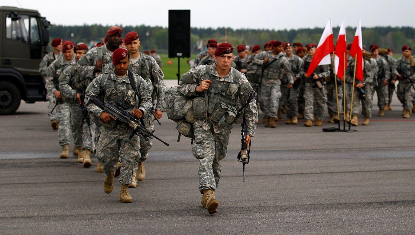 Spadochroniarze z 173. Brygady Bojowej piechoty US Army (fot. REUTERS/Kacper Pempel)