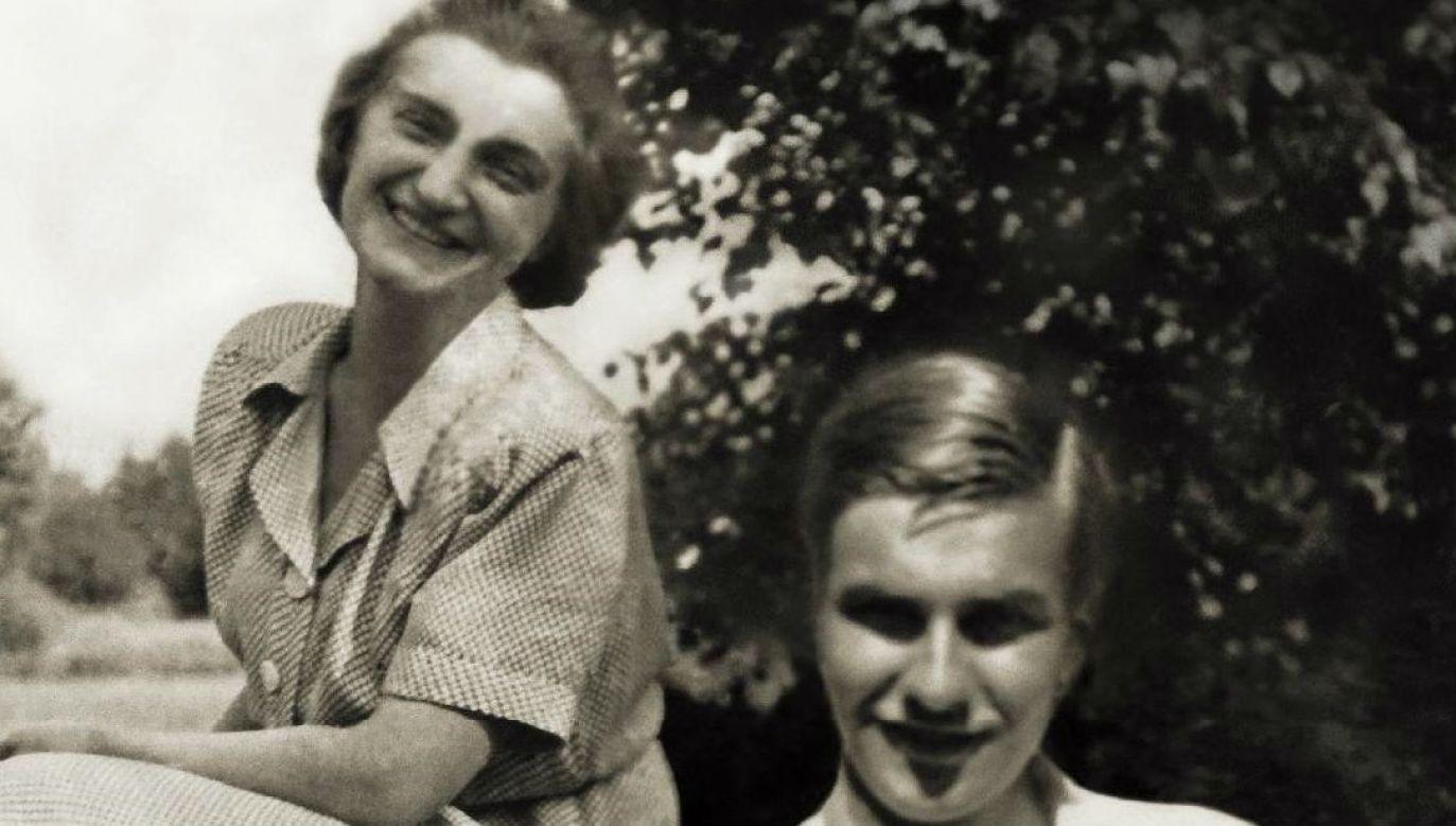 Choć Halina Glińska i Tadeusz Zawadzki byli parą, to nie zachowało się żadne ich wspólne zdjecie (mat. pras.)