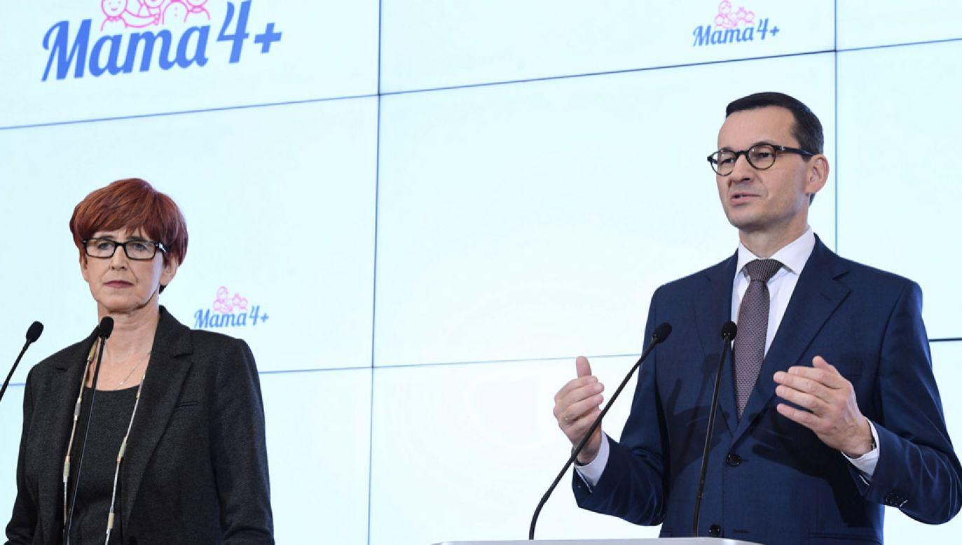 Rząd przyjął projekt ustawy dotyczący tzw. matczynych emerytur (fot. PAP/Radek Pietruszka)