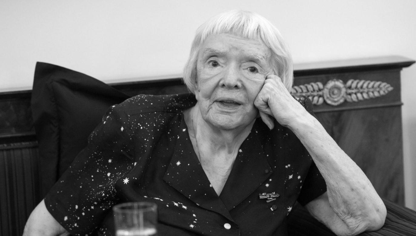 The late Lyudmila Alexeyeva. Photo: PAP/dpa/Bernd von Jutrczenka