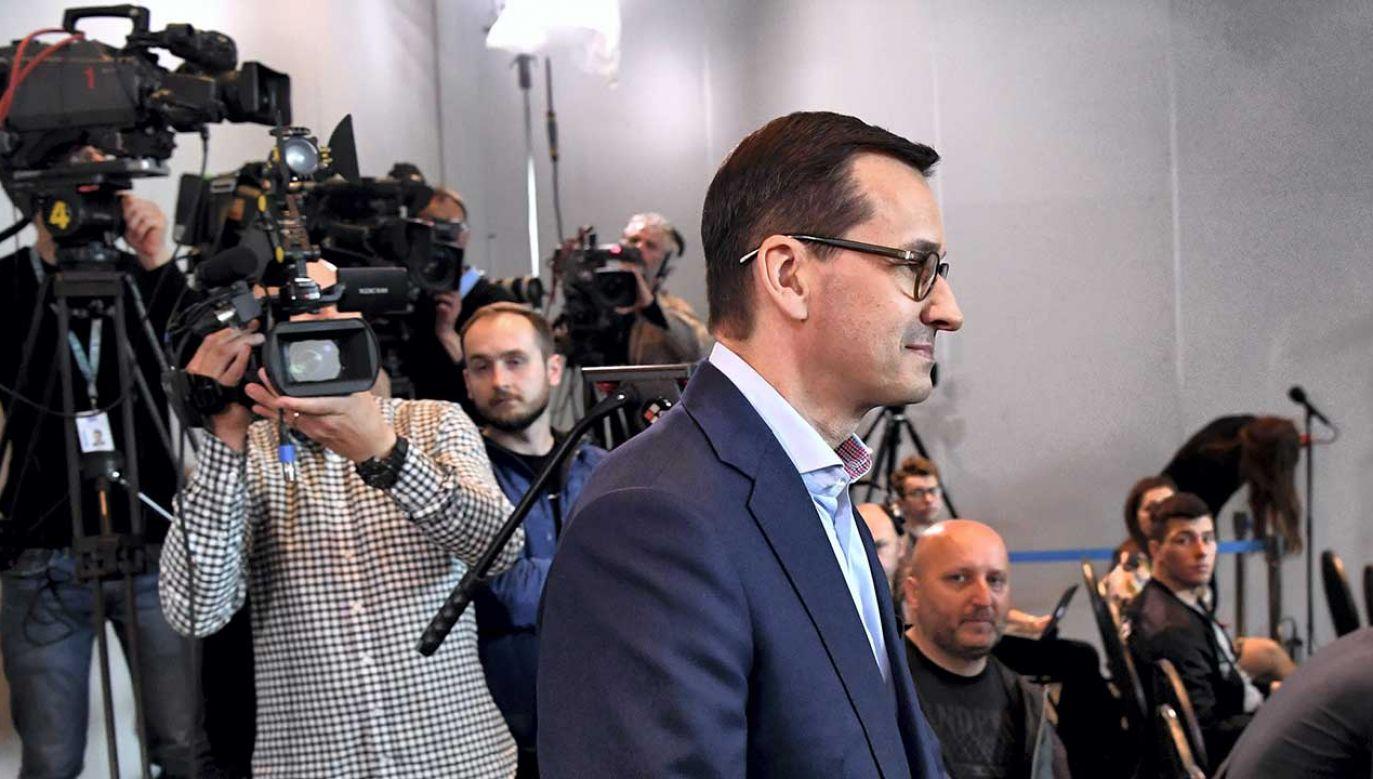 Premier Mateusz Morawiecki nabył wraz z małzonką działkę na wrocławskim Oporowie w 2002 r.  (fot. PAP/Piotr Nowak)