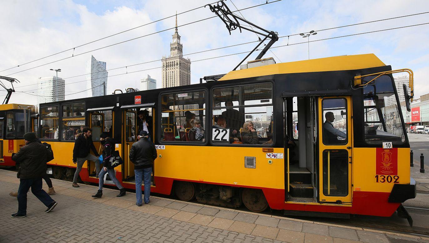 Przetarg na dostarczenie warszawskich tramwajów wygrała firma z Korei Południowej (fot. arch.PAP/Paweł Supernak)