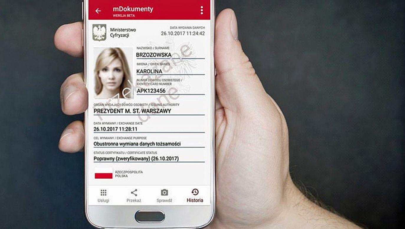 Aplikację mObywatel można już ściągać na telefony komórkowe (fot. Obywatel.gov.pl)