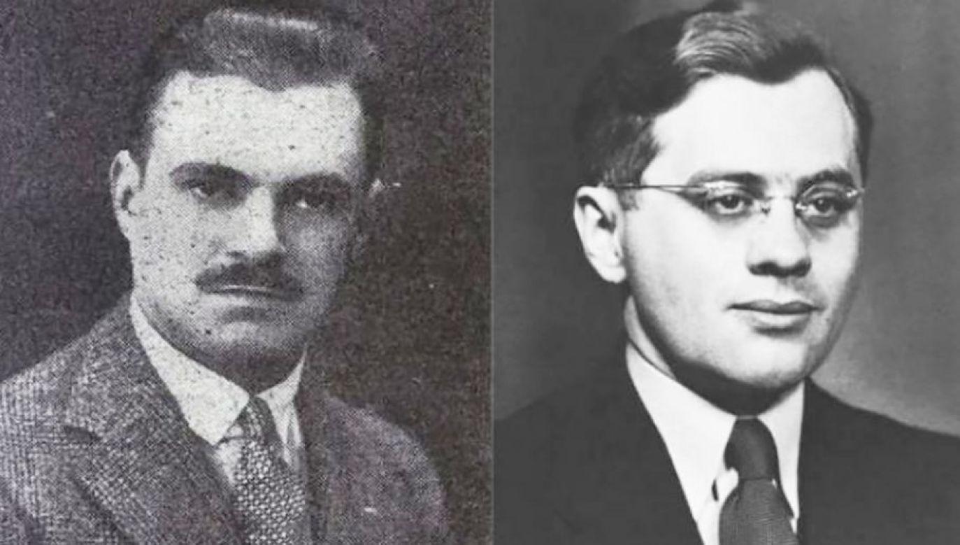 Konstanty Rokicki i Juliusz Kühl (fot. Ambasada RP w Bernie)