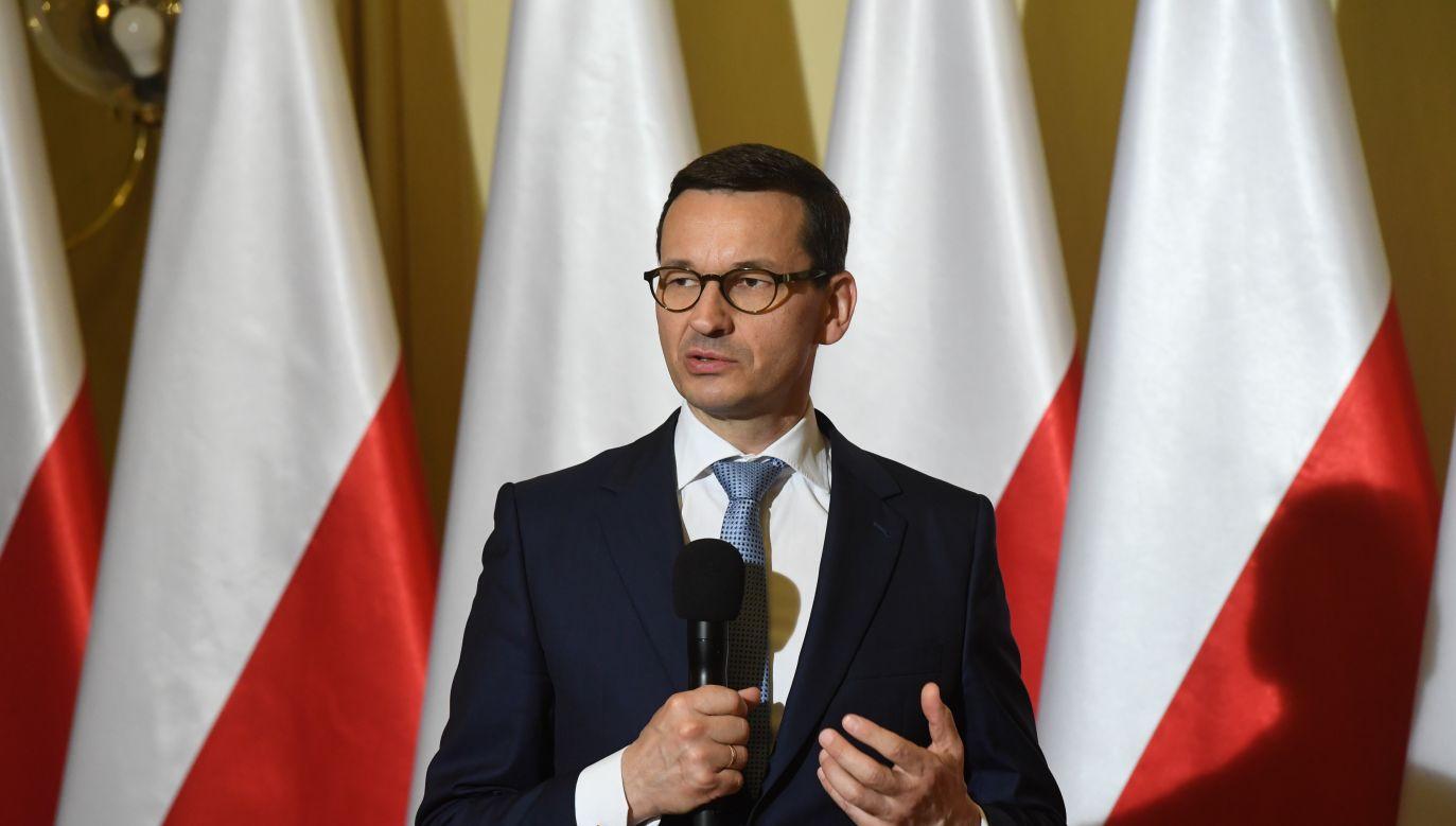 Polish PM Mateusz Morawiecki. Photo: PAP/Jacek Bednarczyk
