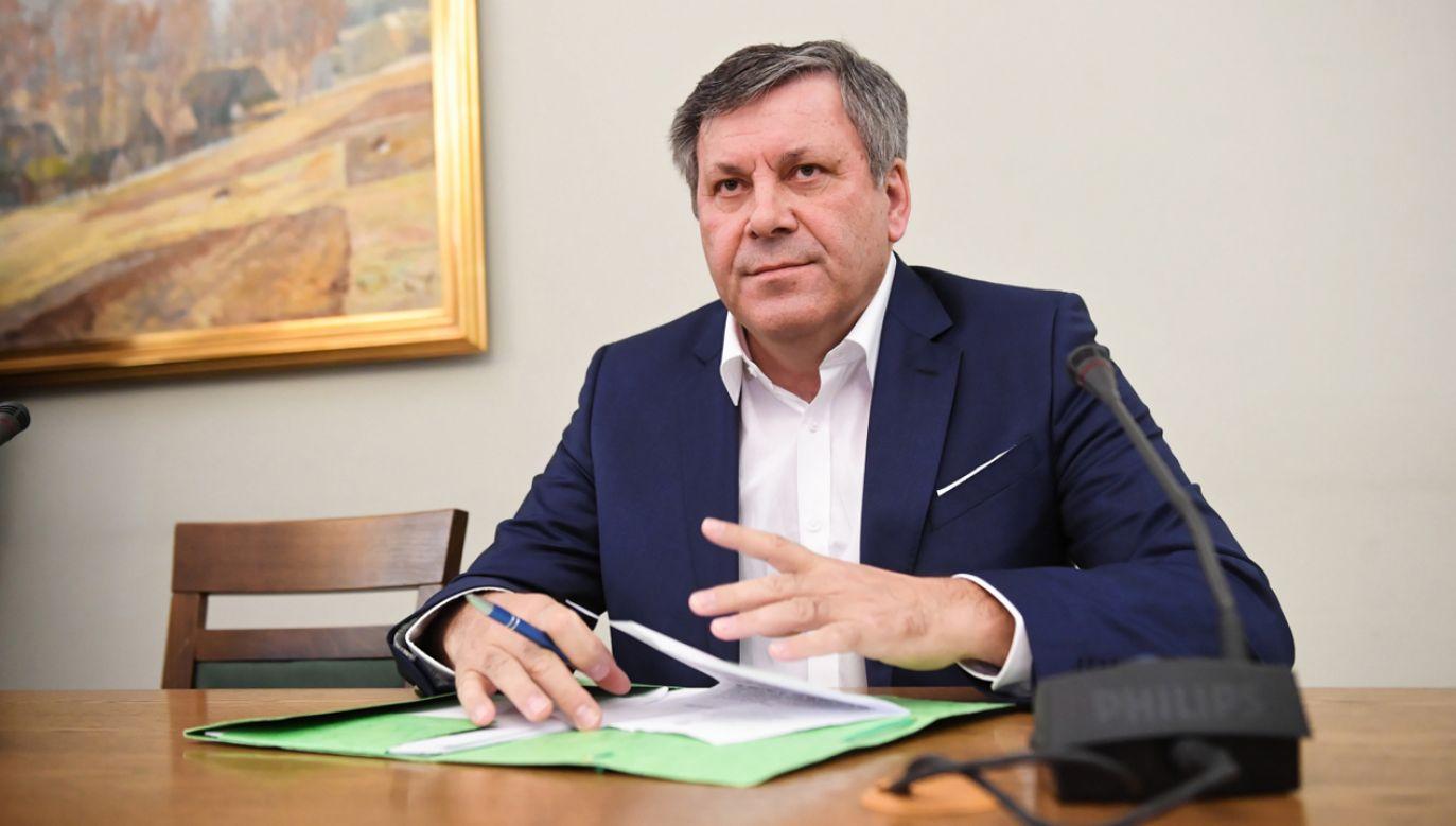 Były minister gospodarki Janusz Piechociński (fot. PAP/Radek Pietruszka)