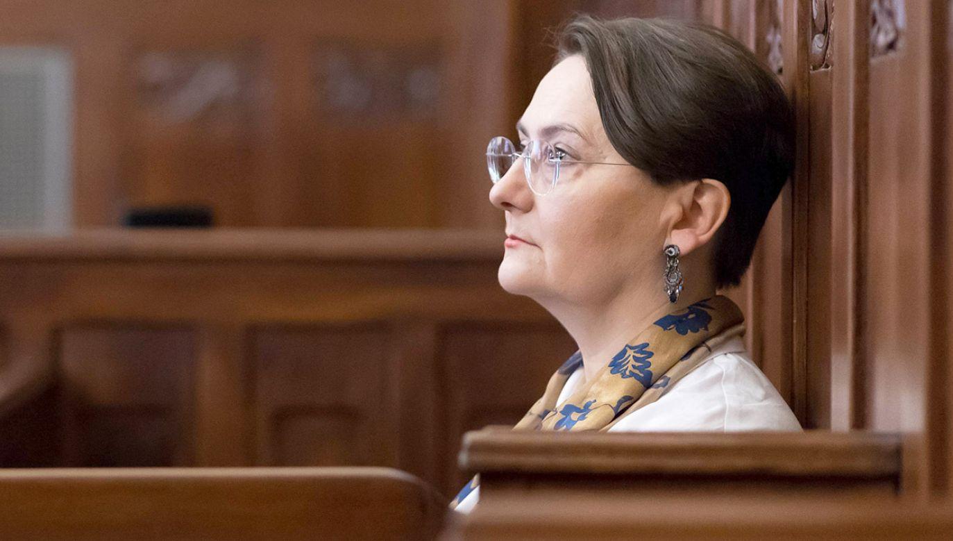 Według sędziego obwiniona dokonała oczywistego zła, ale gorszym złem jest łamanie w Polsce konstytucji (fot. arch.PAP/Jakub Kaczmarczyk)