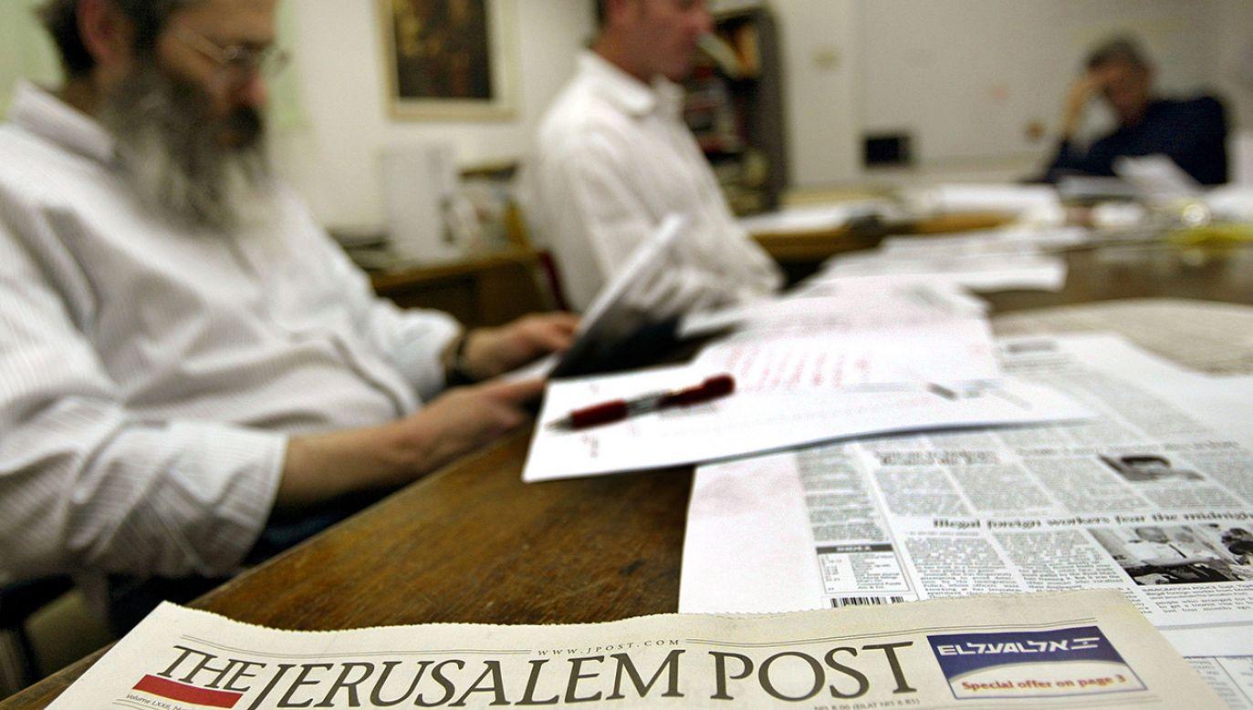Polscy goje wymordowali dwie trzecie Żydów proszących o pomoc – pisze Jerusalem Post, powołując się na Jana Grabowskiego (fot. David Silverman/Getty Images)