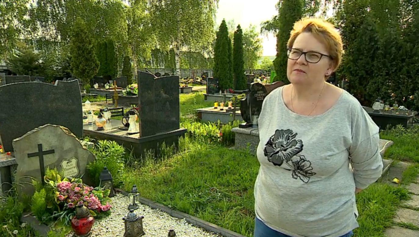 Siostra mężczyzny, który odebrał sobie życie, Iwona Młynarska (fot. interwencja.polsatnews.pl)