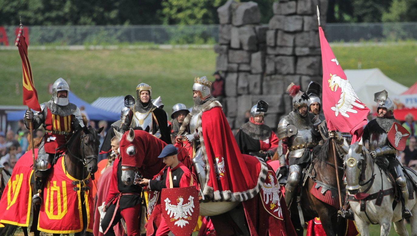 Reenactment of the Battle of Grunwald. Photo: PAP/Tomasz Waszczuk