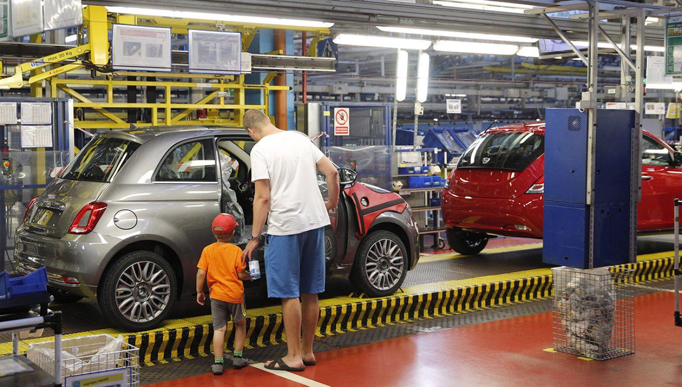 Przyszłość fabryki w Tychach rysuje się w optymistycznych barwach (fot. arch.PAP/Andrzej Grygiel)