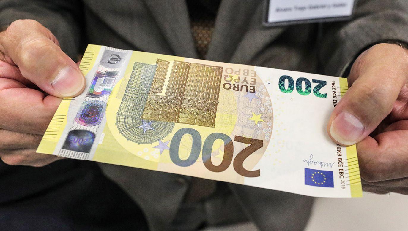 Banknoty do obiegu mają wejść 28 maja 2019 r. (fot. PAP/EPA/ARMANDO BABANI)