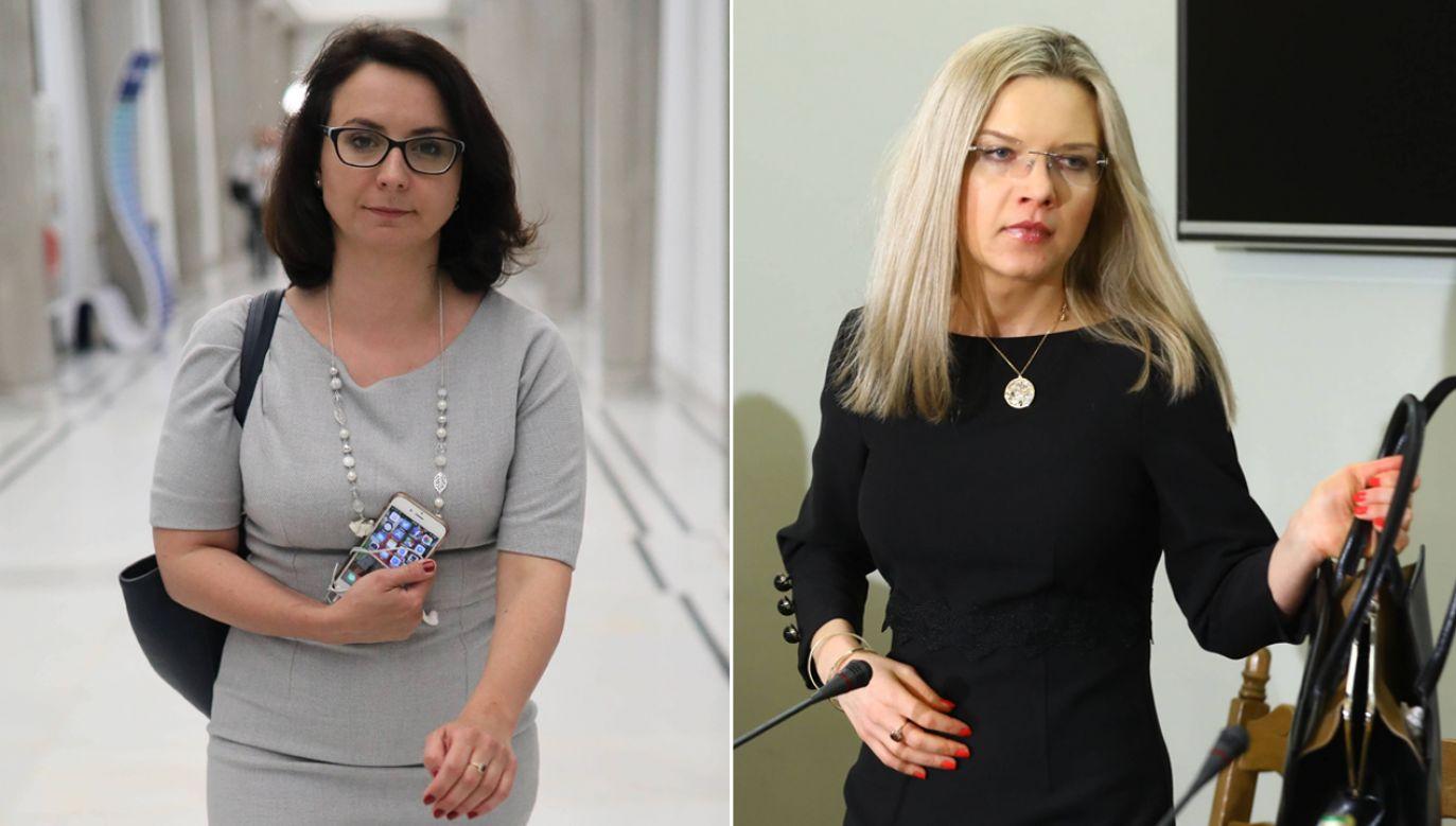 Posłanka Gasiuk-Pihowicz zaatakowała posłankę Wassermann (fot. arch. PAP/Leszek Szymański/Rafał Guz)