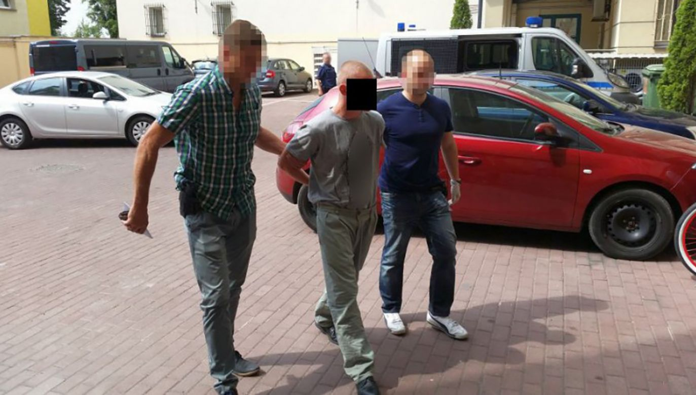 Kamil W. (fot. policja.waw.pl)