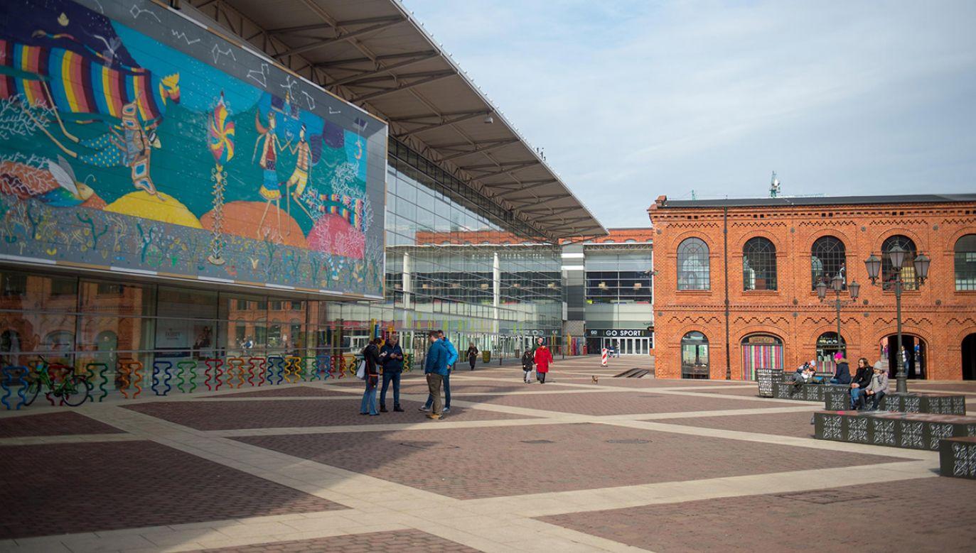 Centrum Handlowe Manufaktura w Łodzi (fot. arch.PAP/Grzegorz Michałowski)