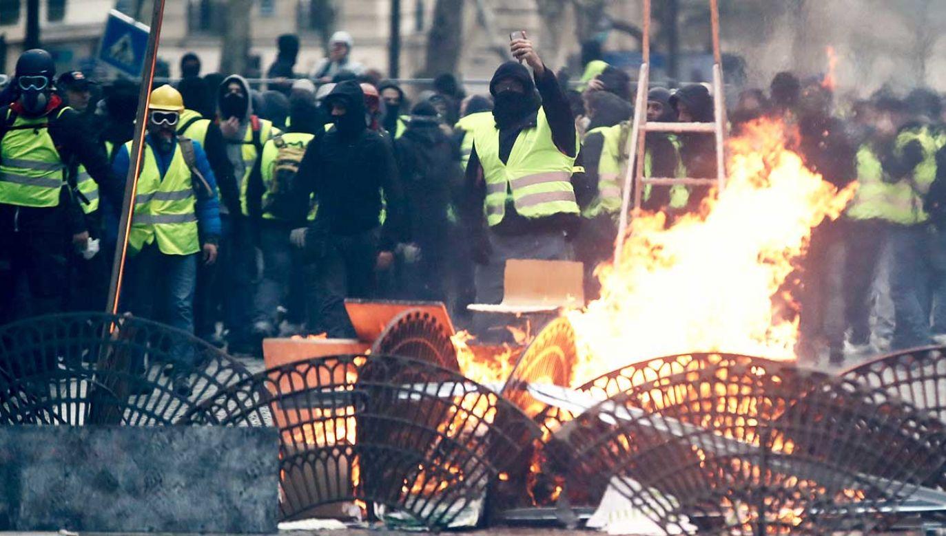 Francuskie służby szukają sprawcy zamachu w Strasburgu (fot. REUTERS/Christian Hartmann)