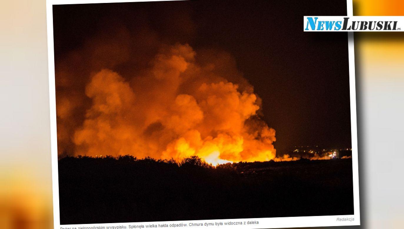 Niewykluczone, że doszło do podpalenia (fot. Newslubuski.pl)