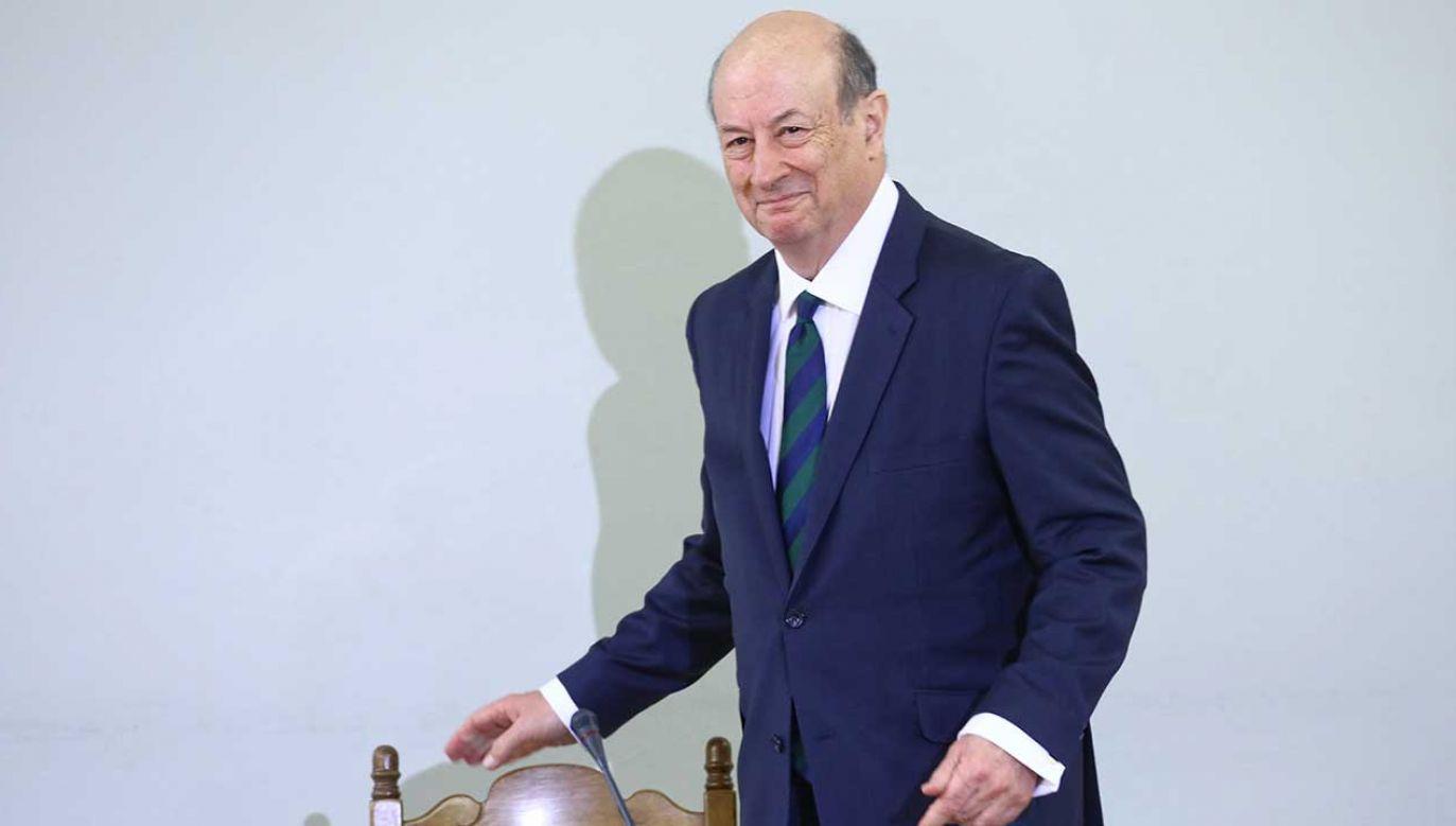 Były minister finansów w rządzie PO-PSL Jan Vincent Rostowski (fot. arch. PAP/Rafał Guz)