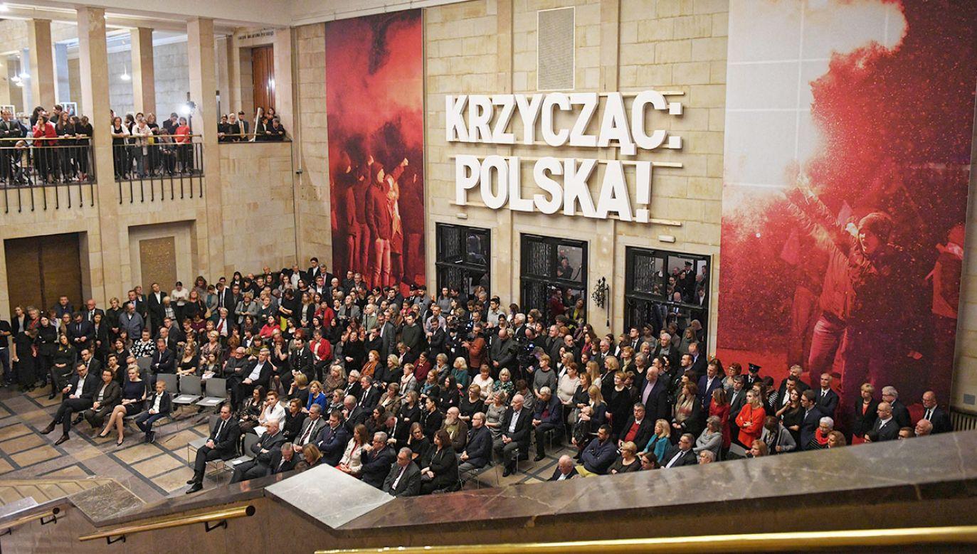 Prof. Jerzy Miziołek opowiedział o planach rozbudowy Muzeum Narodowego (fot. arch.PAP/Radek Pietruszka)