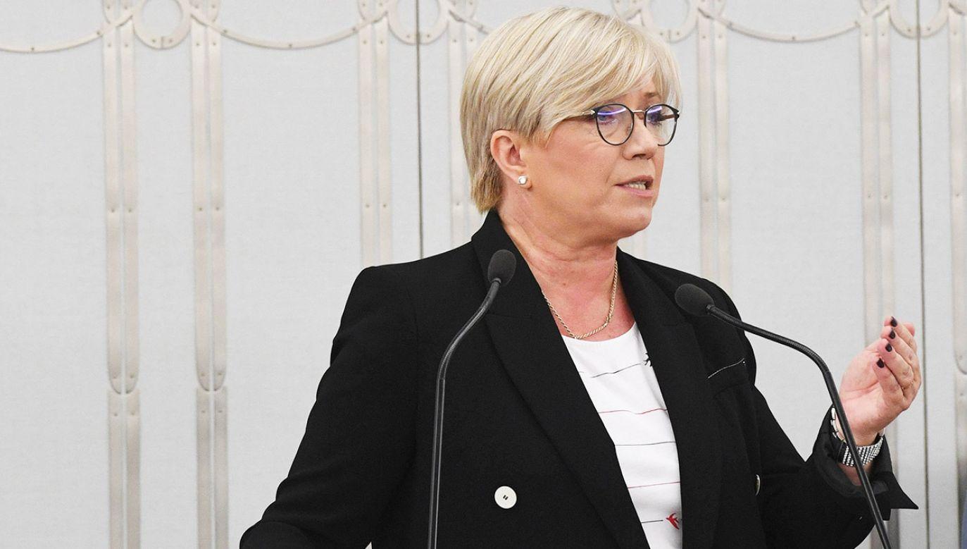 Prezes Trybunału Konstytucyjnego Julia Przyłębska (fot. arch.PAP/Radek Pietruszka)