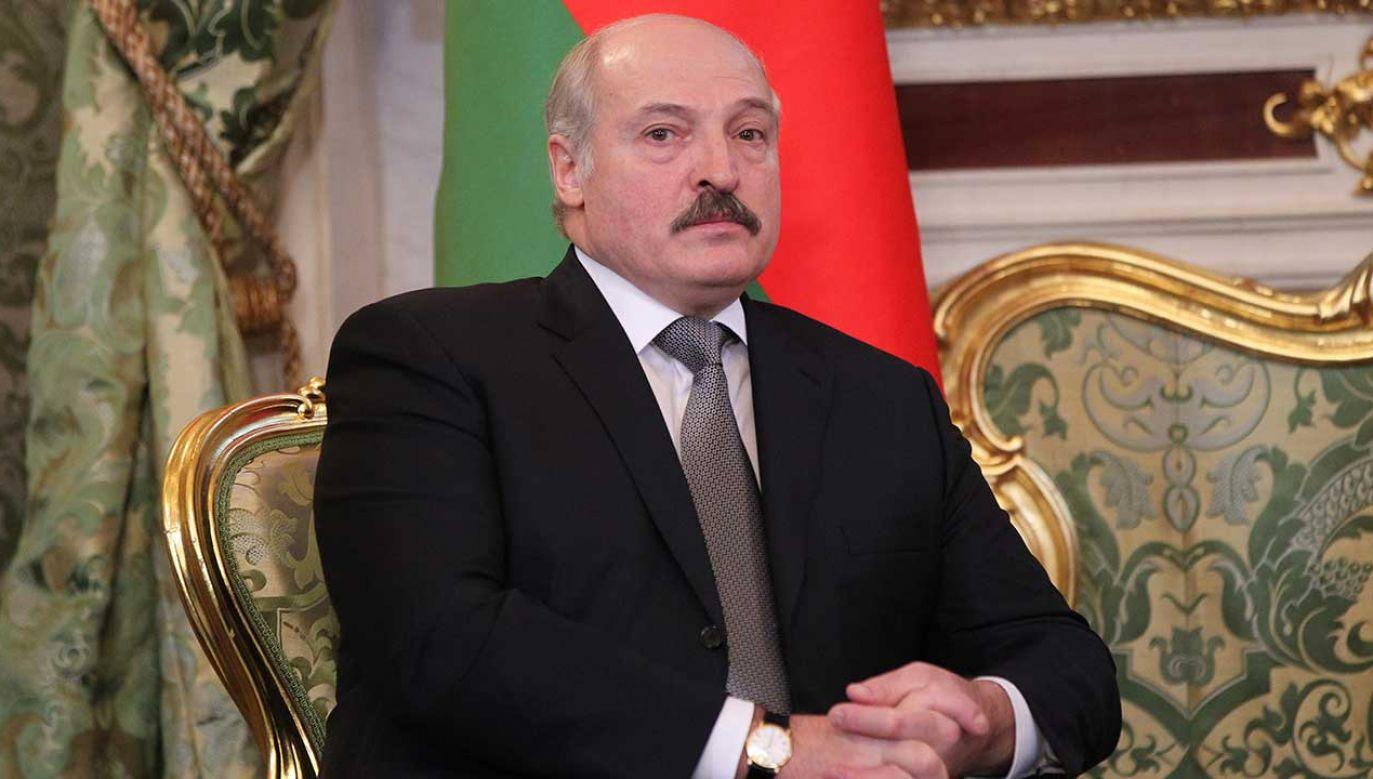 Prezydent Białorusi Alaksandr Łukaszenka (fot. Sasha Mordovets/Getty Images)