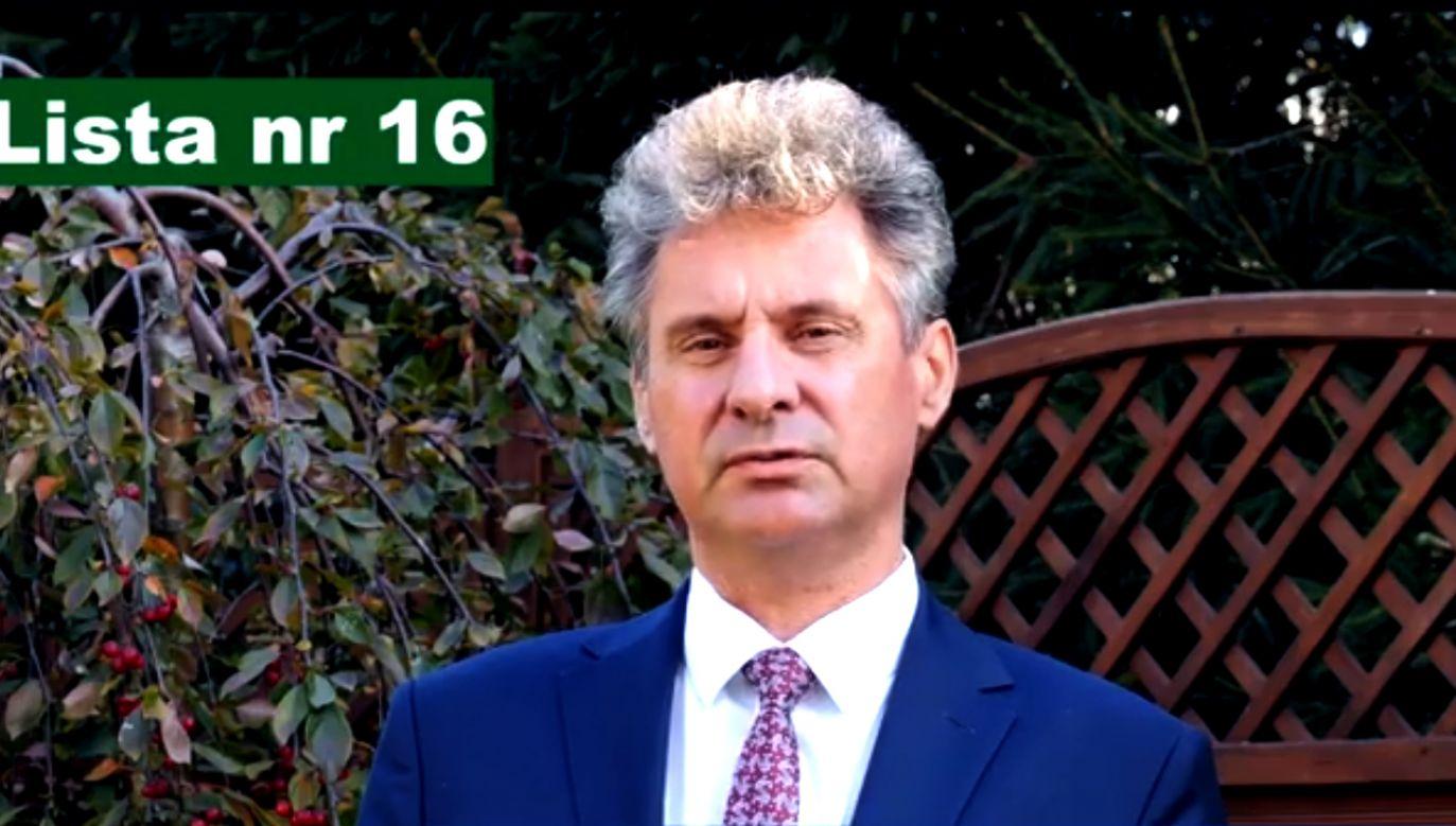 Krzysztof Michalak kolejny raz wygrał wybory samorządowe w Warlubiu (fot. FB/Krzysztof Michalak - KWW Gospodarna Gmina Warlubie)