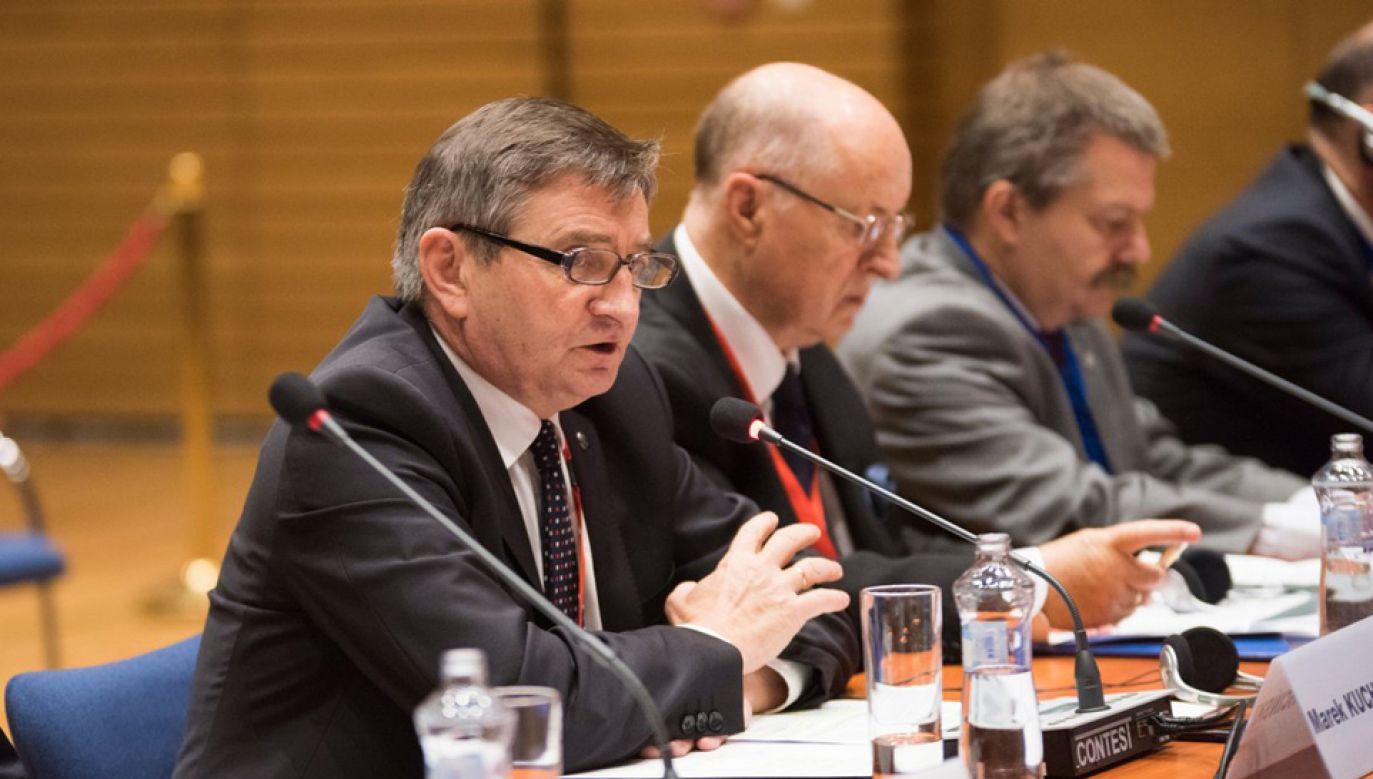 W Bratysławie odbyło się spotkanie przewodniczących parlamentów państw V4 (fot. TT/Sejm RP)